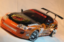 HPI Spint 2 with body Toyota Supra 1/10