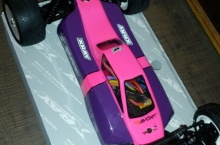 X-Ray XB4 2wd Pink edition